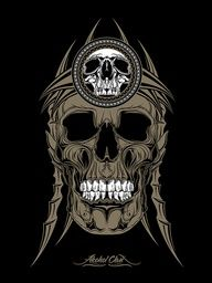 the king by halagabor  #skull