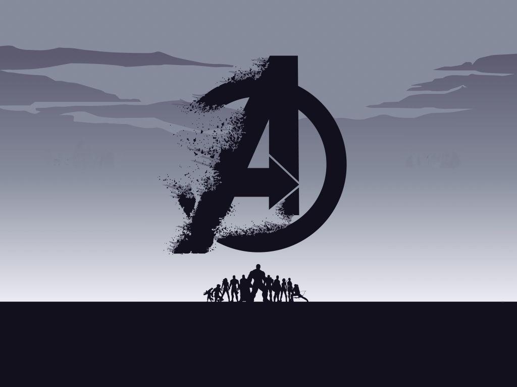 Desktop Wallpaper 2019 Movie Avengers Endgame Minimal Silhouette Art Hd Image Picture Backgrounds Avengers Wallpaper Hd Phone Wallpapers 8k Wallpaper