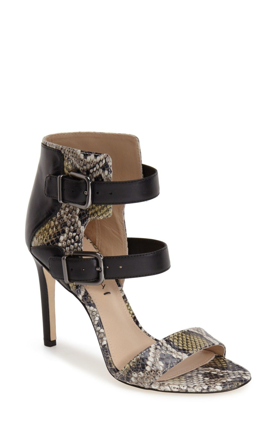 3295c1189b0 Free shipping and returns on Via Spiga  Evangeline  Ankle Cuff Sandal  (Women) at Nordstrom.com. A duo of buckled straps details the ankle of this  glam cuff ...