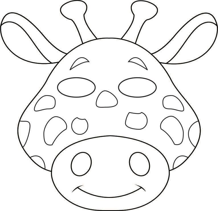 Preschool Animal Crafts Printable Animal Masks Craft Kids - new animal coloring pages with patterns