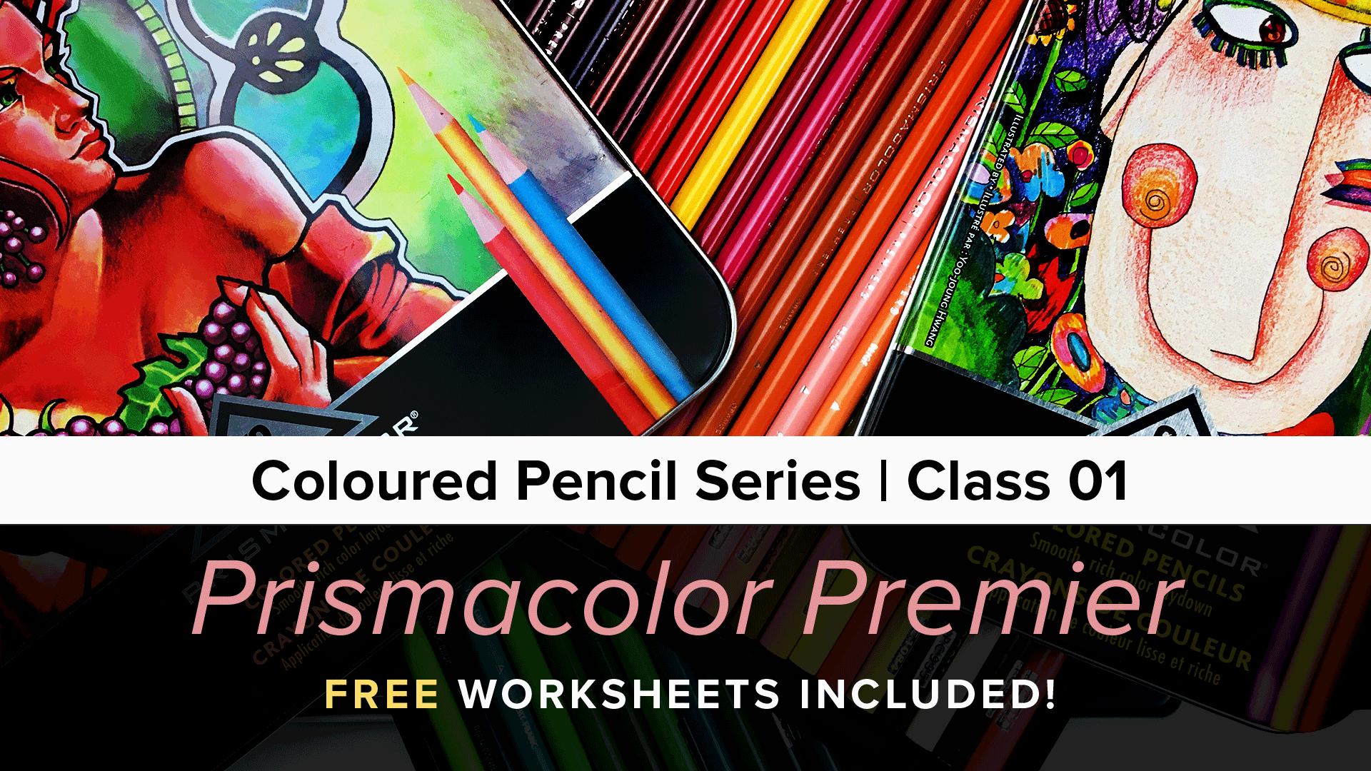 Coloured Pencil Series