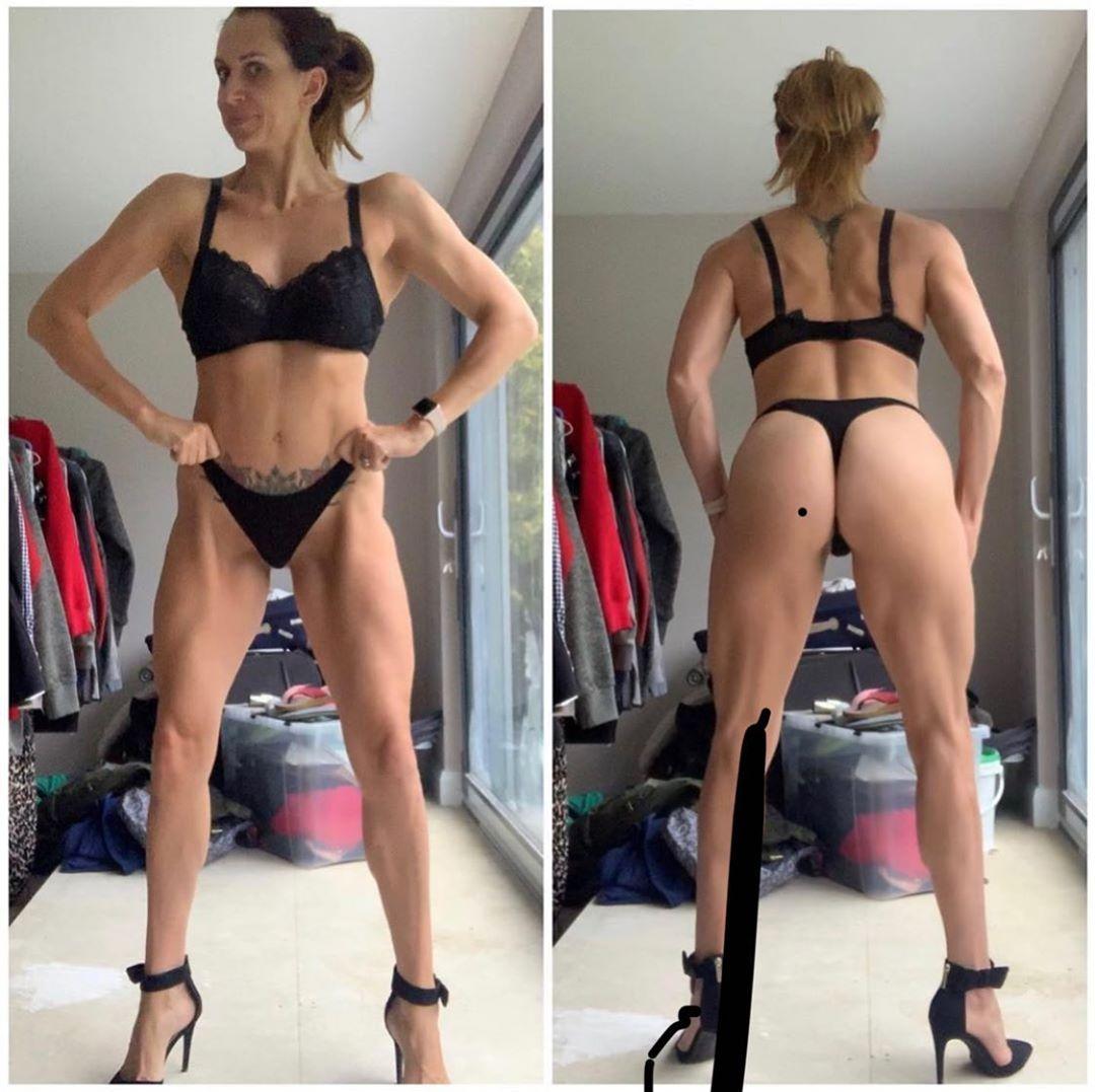Follow  @rebecca_bikini_competitor @ladiesofmuscle #femalebodybuilder #fitnessmodel #beautifulgirls...
