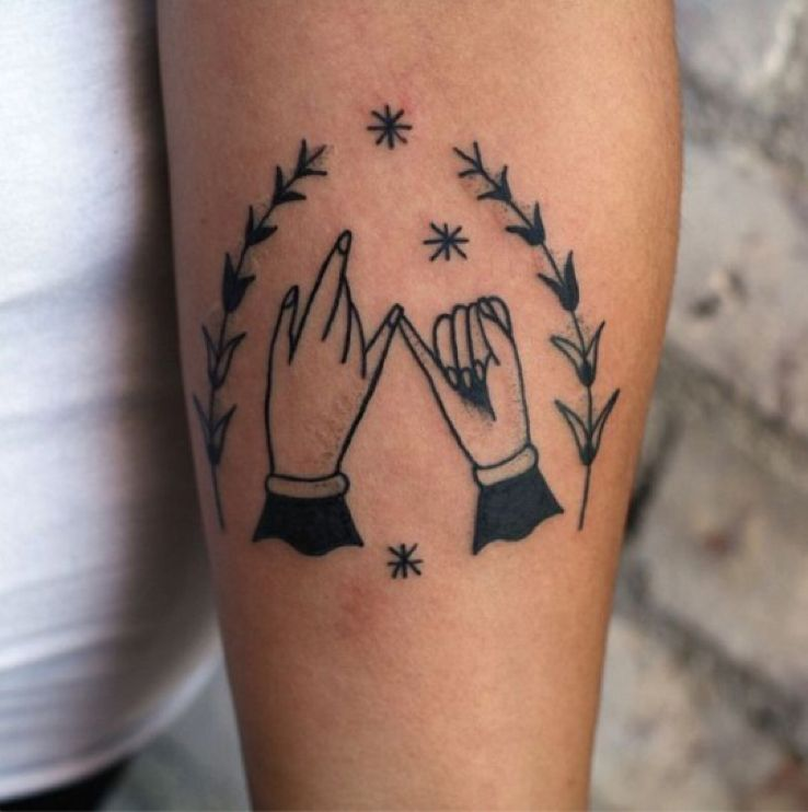Pinkie swear tattoo