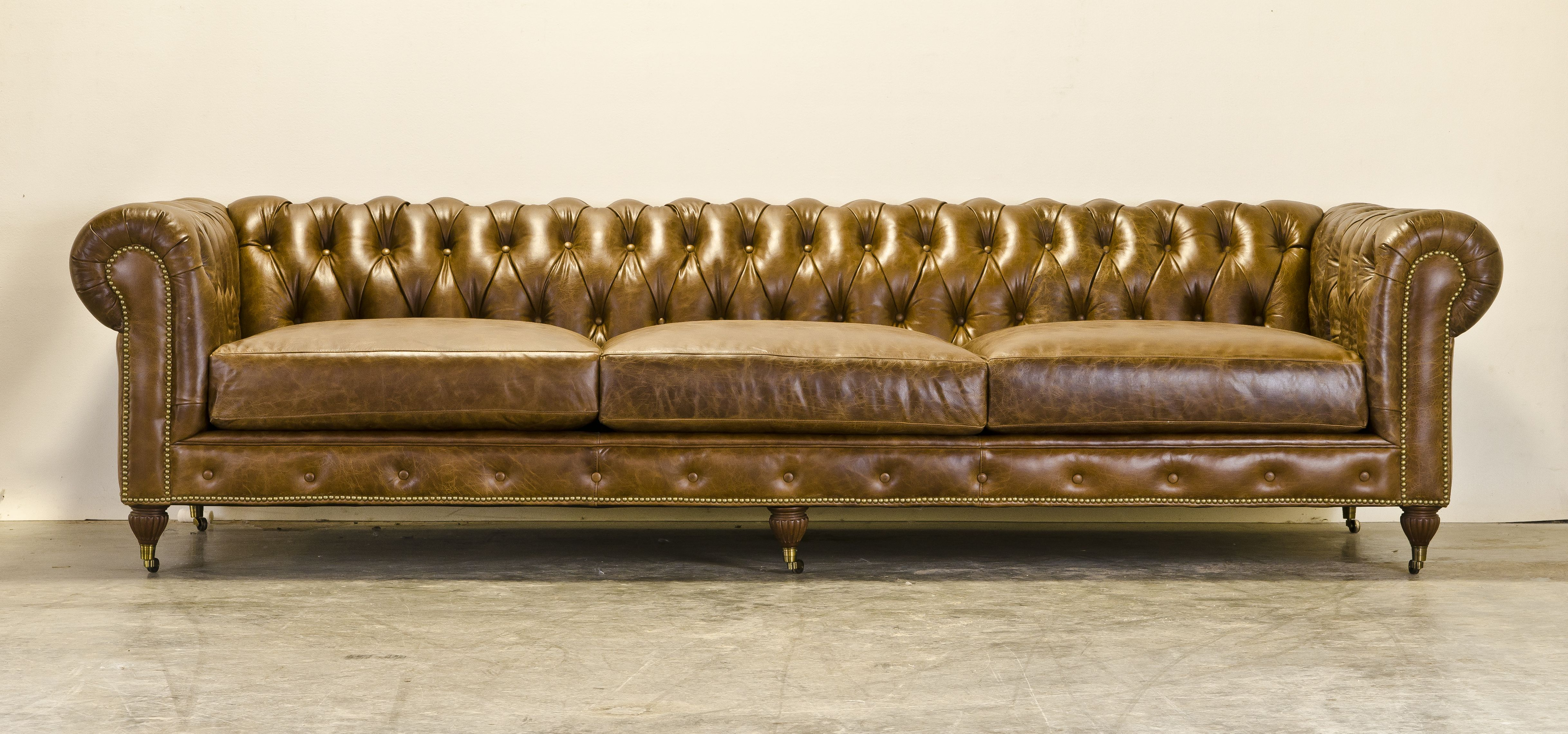 This Ten Foot Chesterfield Sofa Is Enormous Furniture Making
