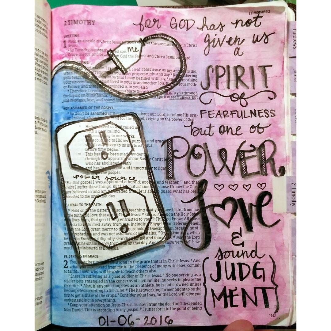 """""""The Holy Spirit has been singing this one in my ear today!  I am thankful for the encouragement. God is the power source.... I just need to stay plugged…"""""""