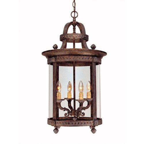 448/Found It At Wayfair   French Country 4 Light Outdoor Hanging Lantern