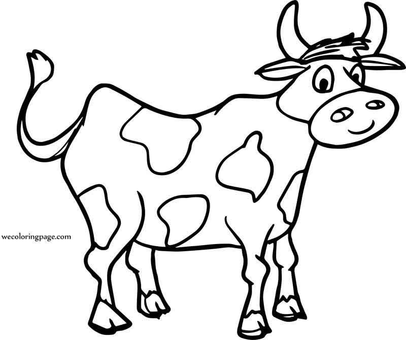 Images Free For Cow Face Coloring Page Cow Face Coloring