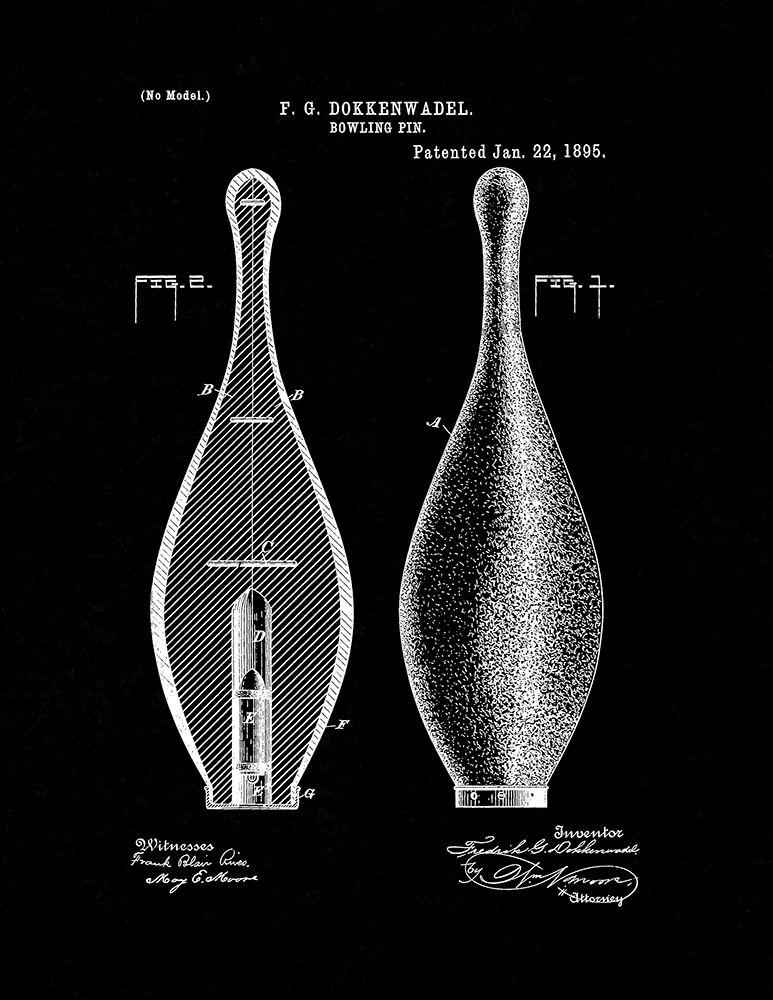 Pin by Frame a Patent on Bowling Patent Prints Patent