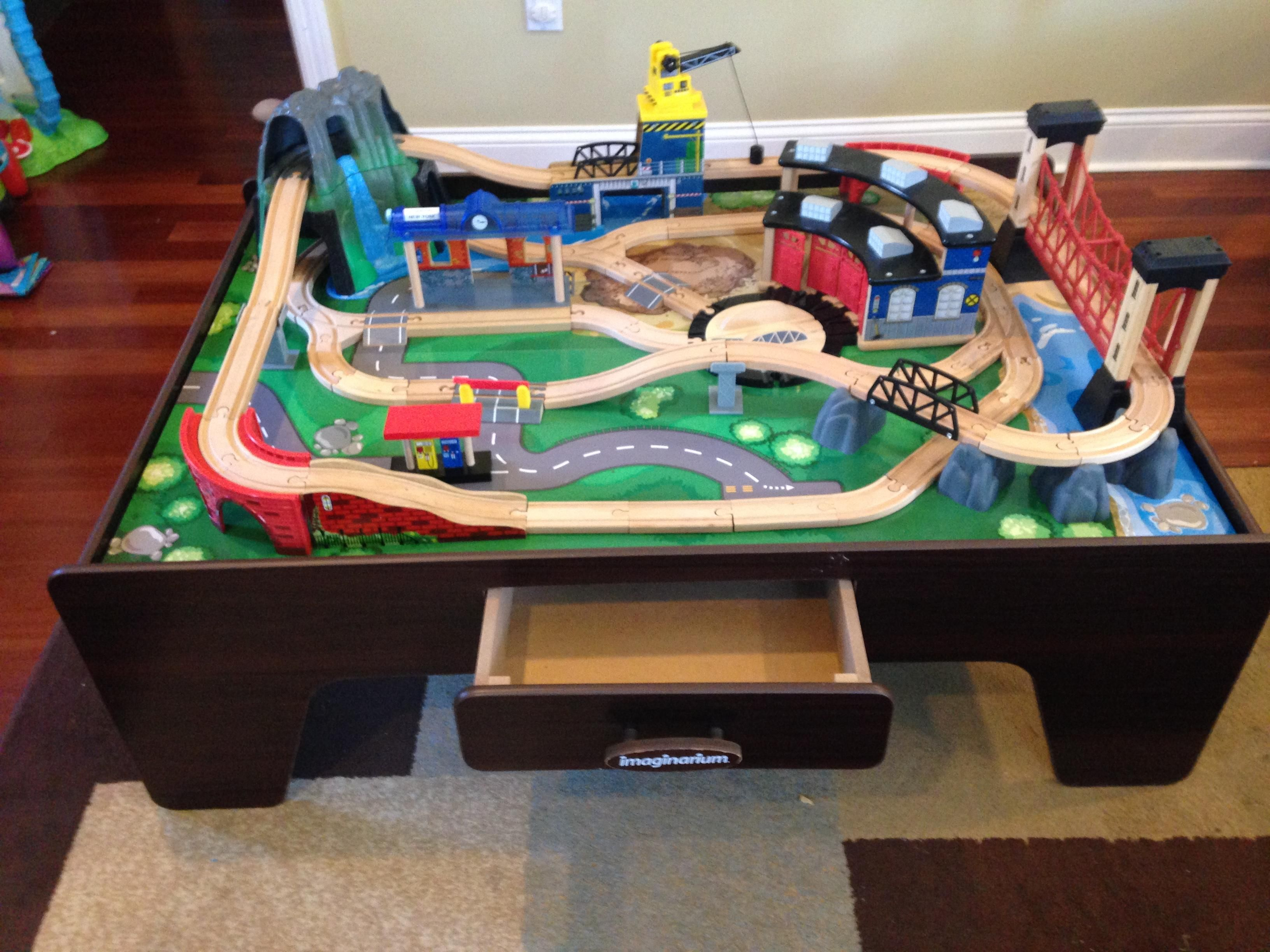 Imaginarium Mountain Rock Train Table | Trains & tracks | Pinterest ...