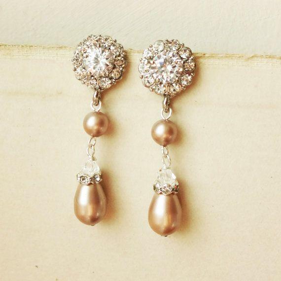 Champagne Bridal Jewelry