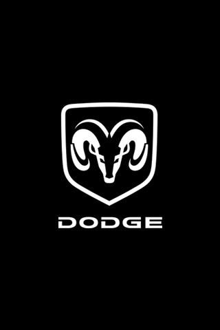 dodge logo iphone wallpapers auto brands pinterest. Black Bedroom Furniture Sets. Home Design Ideas