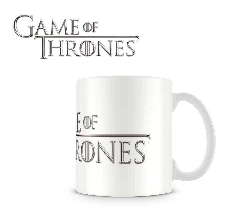 Taza Juego de Tronos (Game of Thrones). Logo