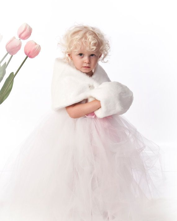 1000  images about Winter Flower Girl on Pinterest  Cloaks Girls ...