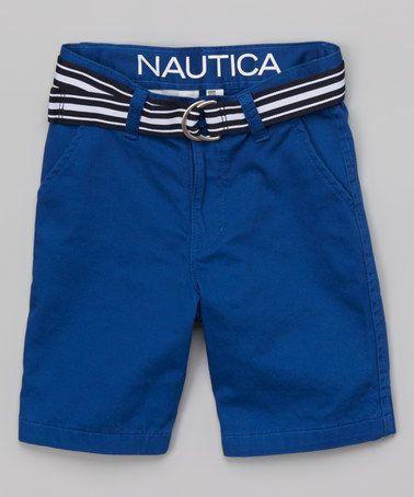 Look at this #zulilyfind! Saxony Blue Shorts - Boys #zulilyfinds