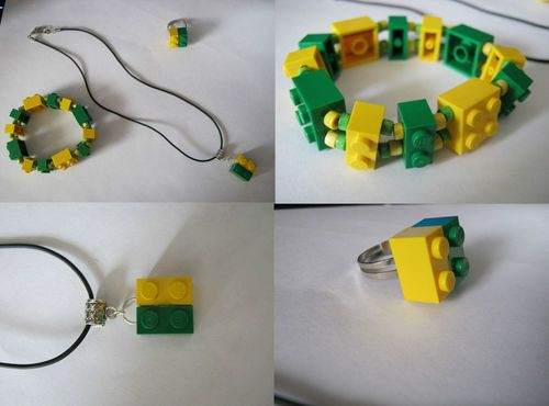 Need A Tiny Drill Lego Jewellery Lego Jewelry Funky Gifts Jewelry