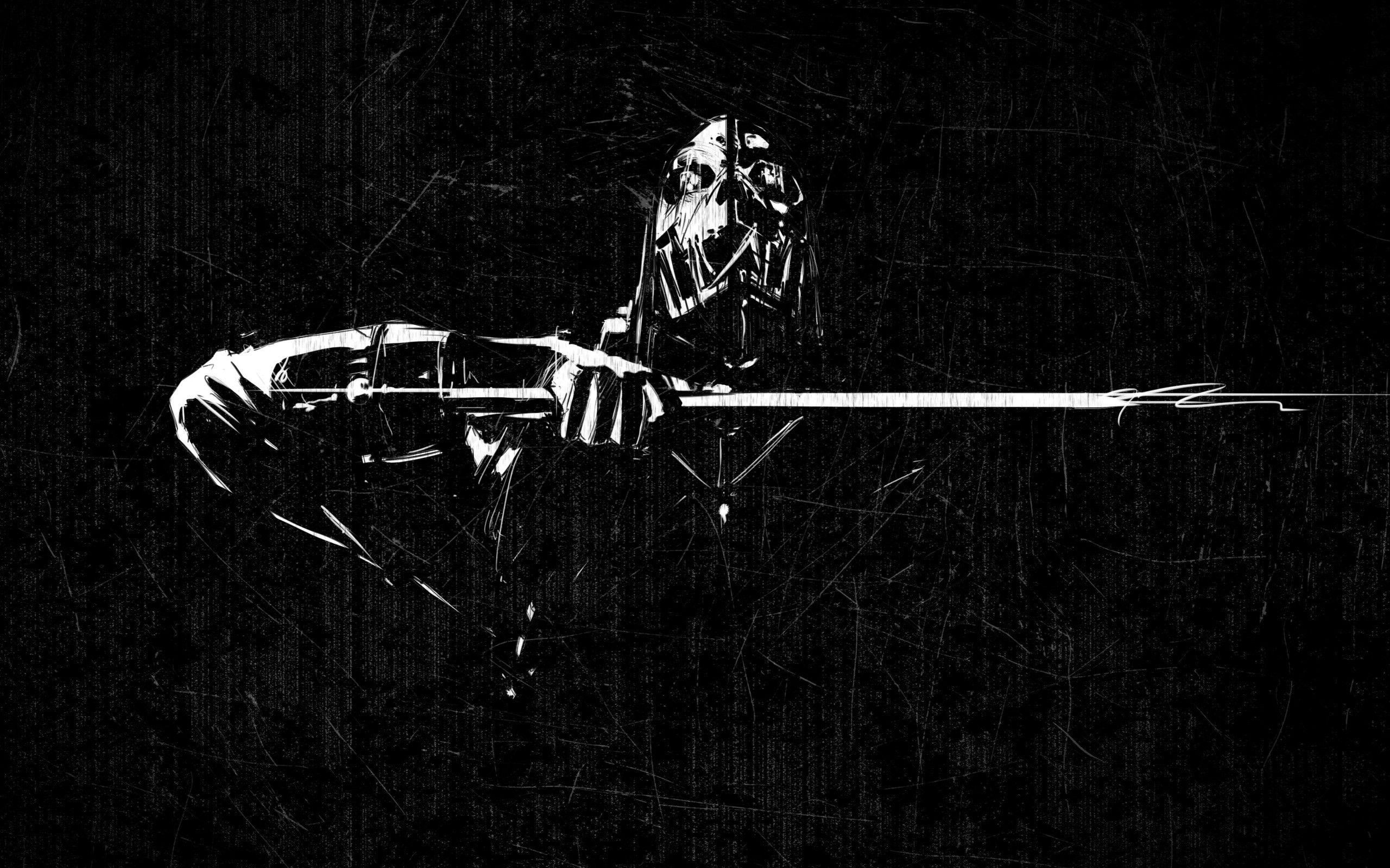 Corvo Attano Dishounored Wallpaper Digitalart Io Dishonored Gaming Wallpapers Best Gaming Wallpapers