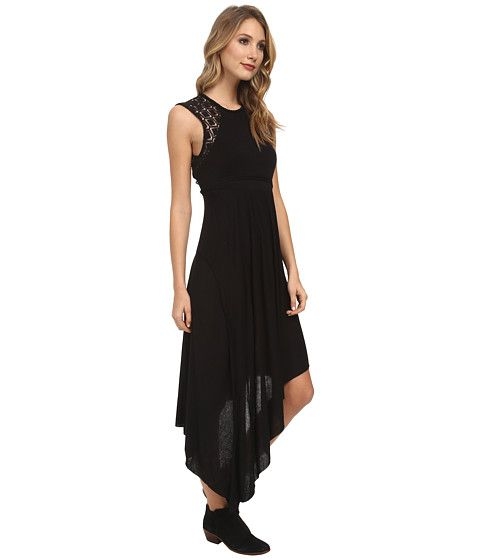Free People Afternoon Delight Dress Black - Zappos.com Free Shipping BOTH Ways