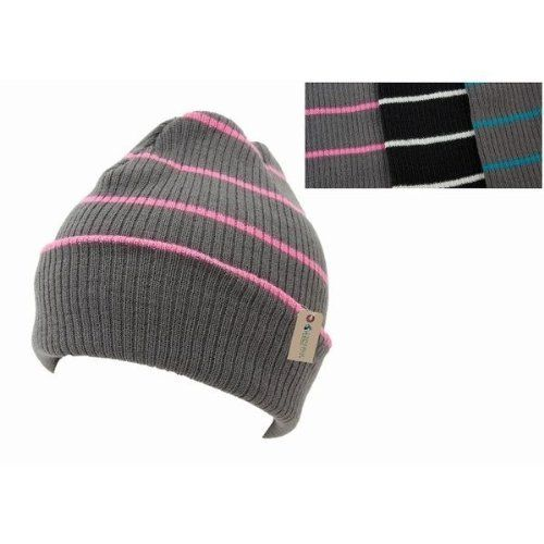 4c2438a9237 Kids Childrens Unisex Striped  Winter Thermal Knitted Slouch  Hat ...