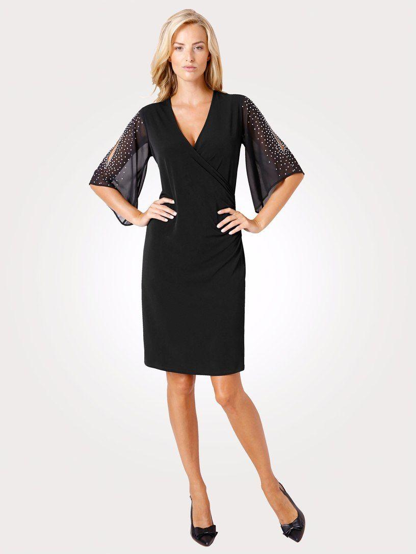 MONA Jerseykleid in Wickeloptik | MONA | Modestil, Das ...