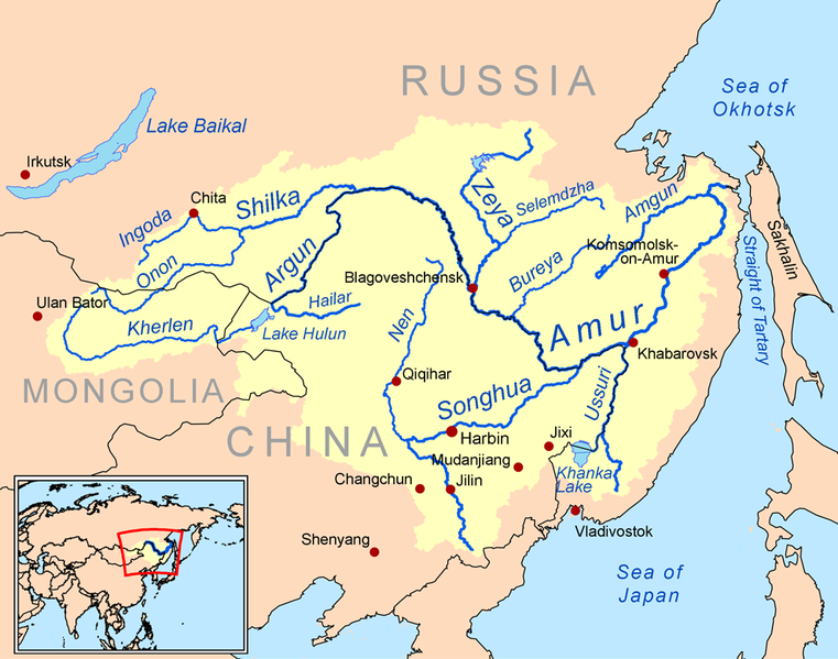 The Amur River Or Heilong Jiang Is The World S Tenth Longest River Forming The Border Between The Russian Far East And Northeastern China Inne