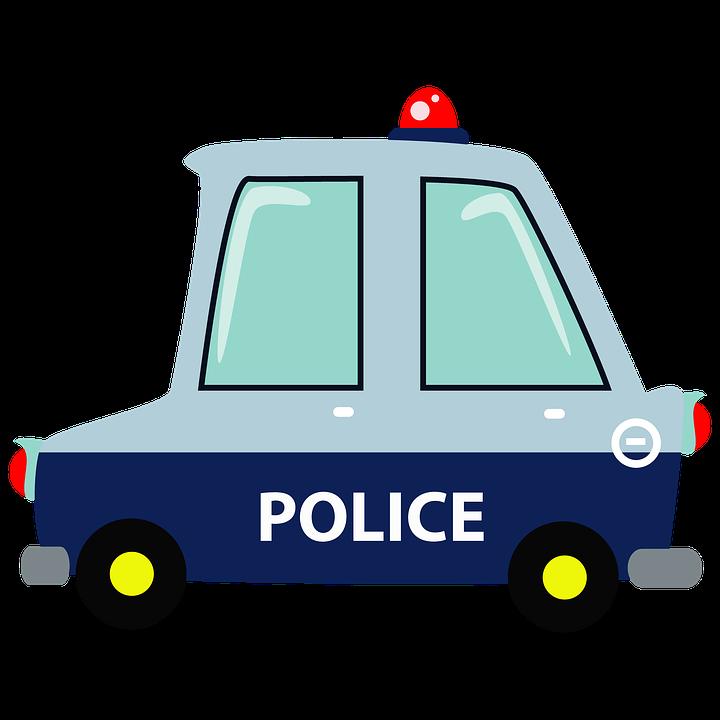 Free Image On Pixabay Police Car Muscle Car Cartoon Police Cars Car Cartoon Car