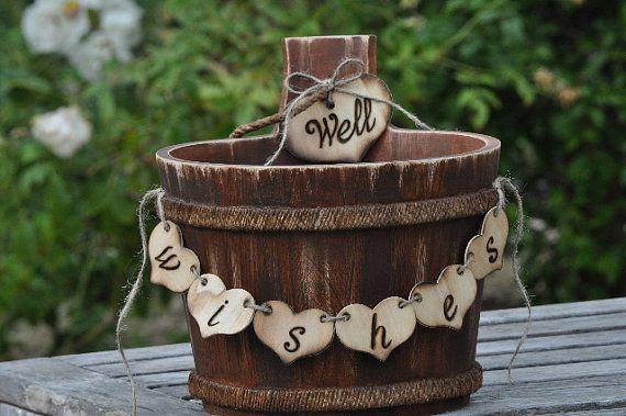 Large Rustic WeddingVineyard Wedding Card BoxWell Wishes Half – Wedding Card Box Alternatives