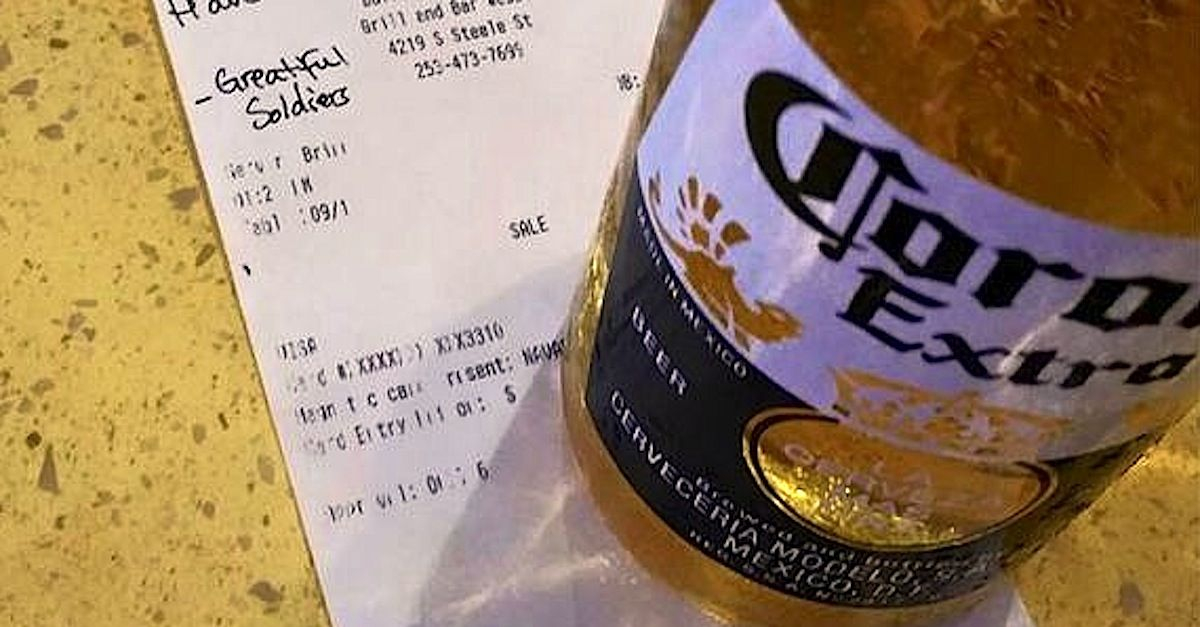 Bartender Serves Mystery Woman A Beer For Late Brother And ...