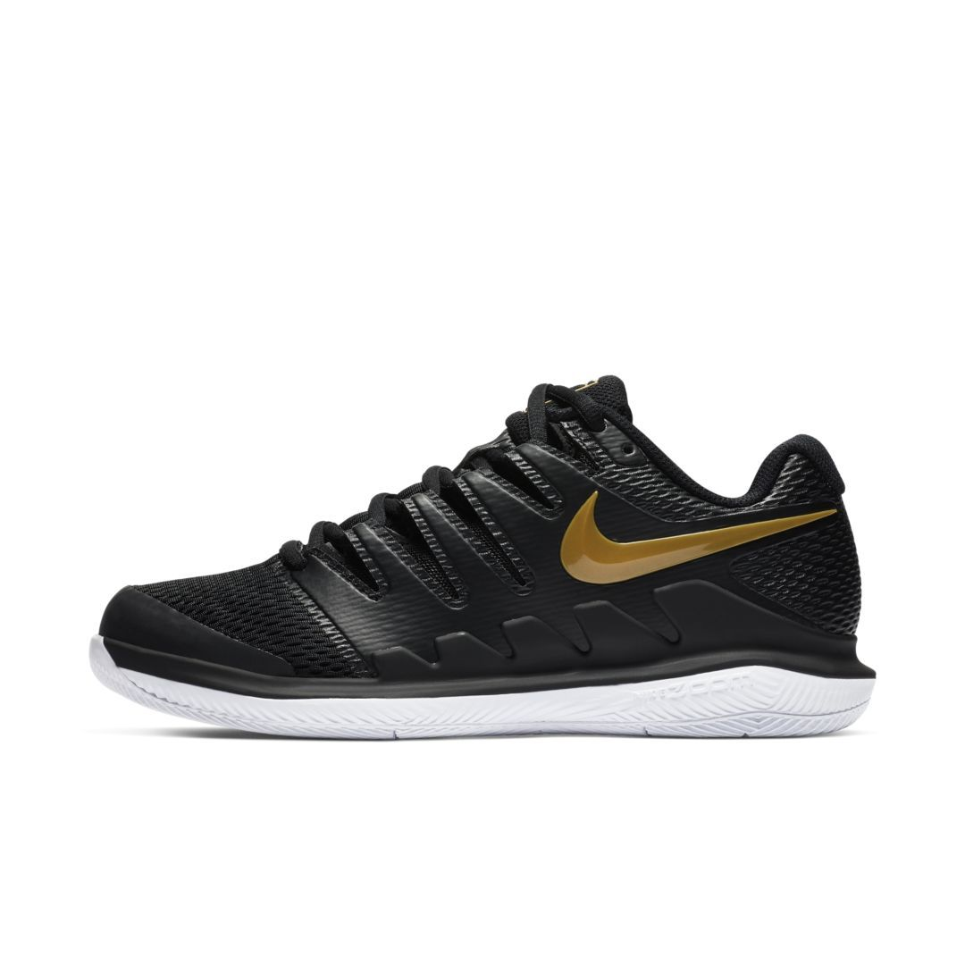 competitive price 0d858 c3f3f NikeCourt Air Zoom Vapor X Women s Hard Court Tennis Shoe Size 5.5 (Black)