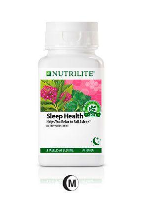 A8992 Nutrilite Sleep Health Helps You Relax To Fall Asleep A