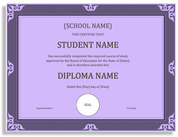 Graduation Certificate Template Word 1 Templates Example Templates Example Certificate Templates Graduation Certificate Template Degree Certificate