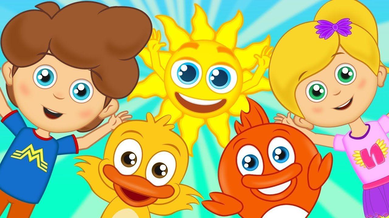 ا صباح الخير أناشيد للأطفال رسوم متحركة اغاني اطفال Canciones De Ninos Canciones Infantiles Ninos