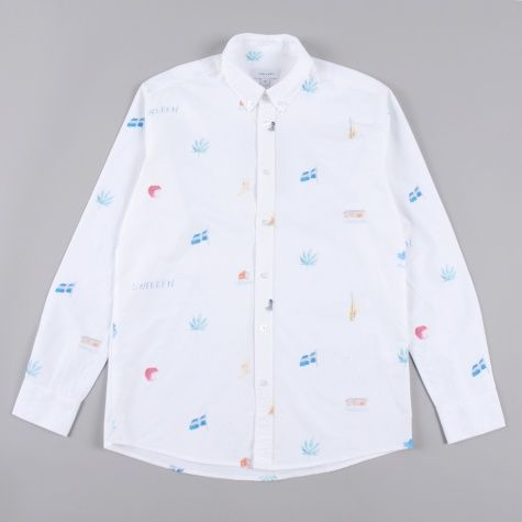 Soulland Idyl Shirt - White/Colour