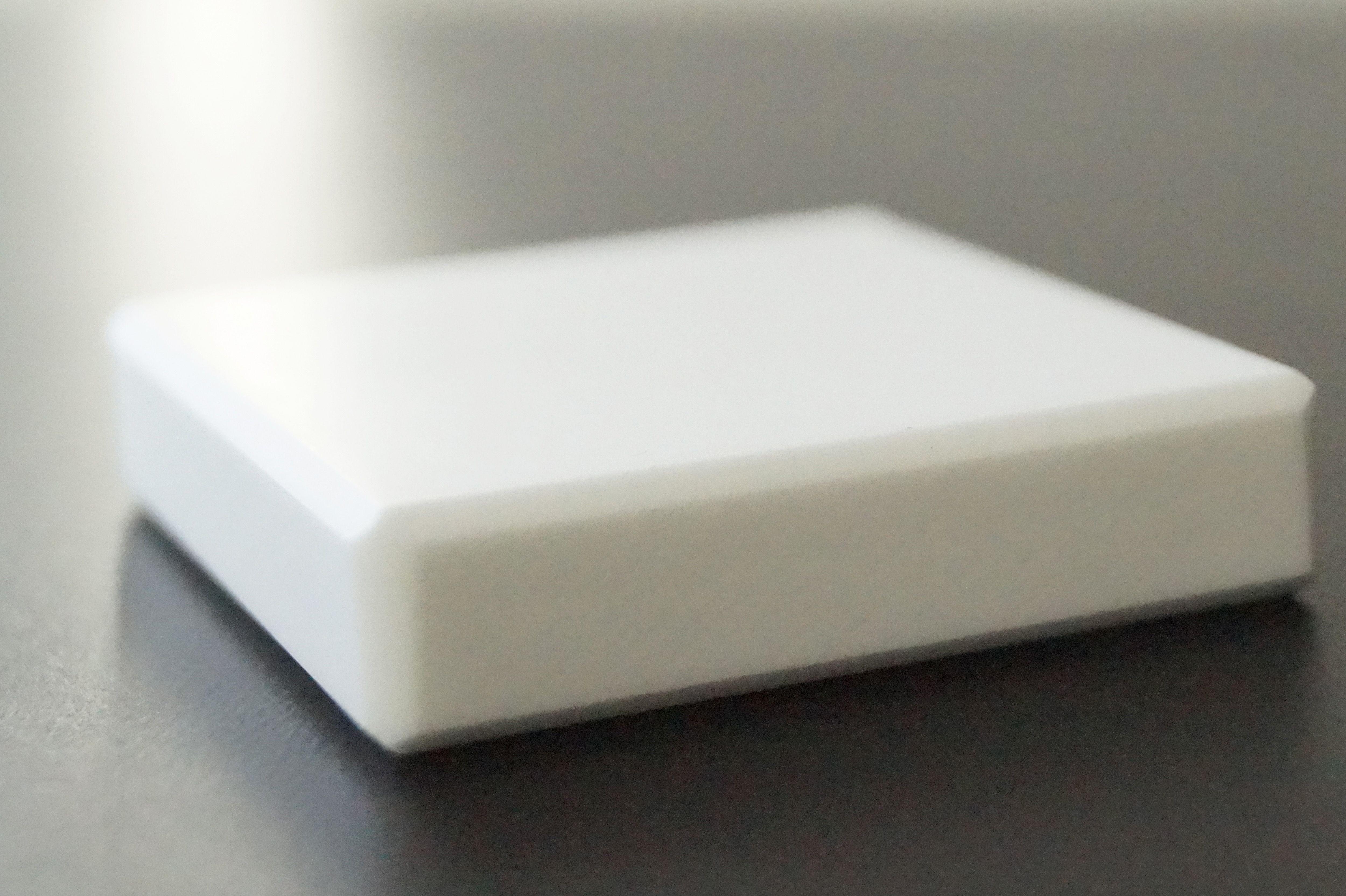 Dekor: Alpine White. HI-MACS forhandlet af Keflico A/S. Skriv til info@keflico.com for nærmere information eller følg linket.