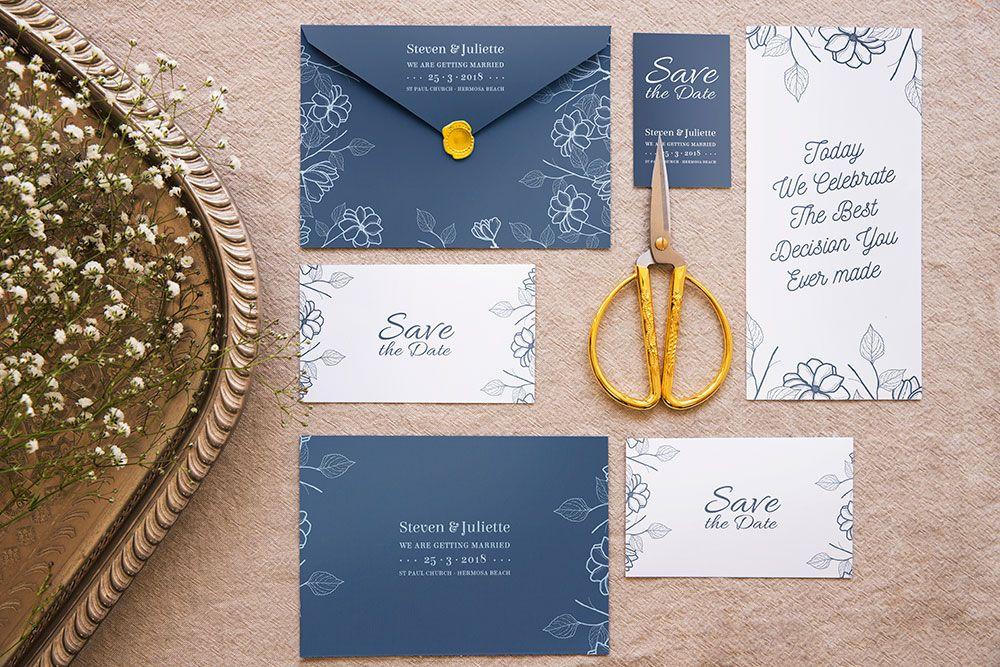 Download This Elegant Wedding Invitation Mockup Invitation Mockup