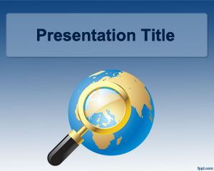 free international powerpoint template for research projects and, Modern powerpoint