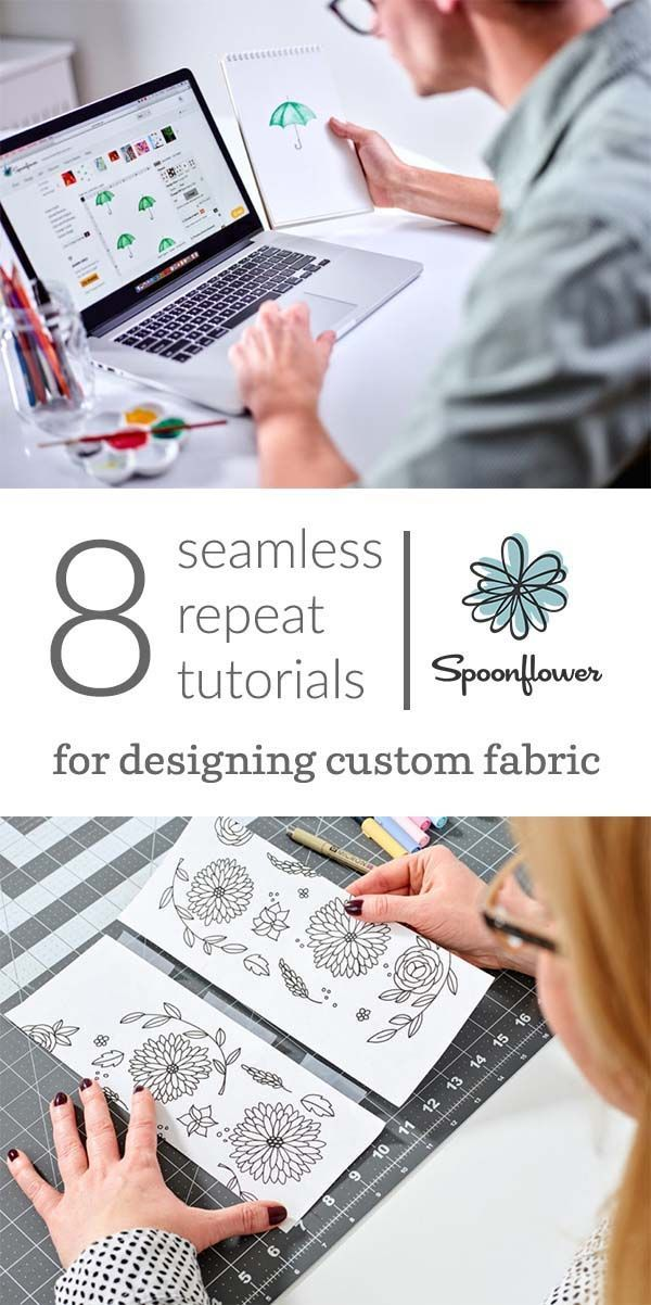 8 Seamless Repeat Tutorials for Designing Custom Fabric