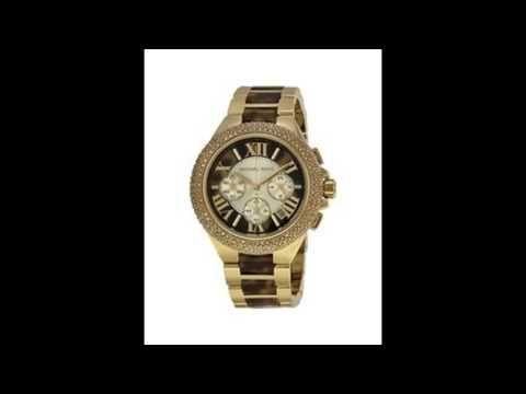 ساعات مايكل كورس احدث موديلات ساعات مايكل كورس Michael Kors Gold Watch Wood Watch Gold