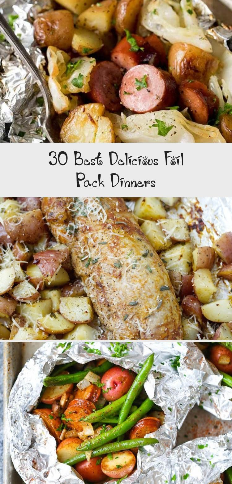 30 Best Delicious Foil Pack Dinners – Recipes