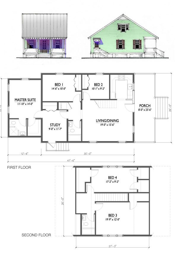 Kc 1807 Cottage House Plans House Plan Gallery House Plans