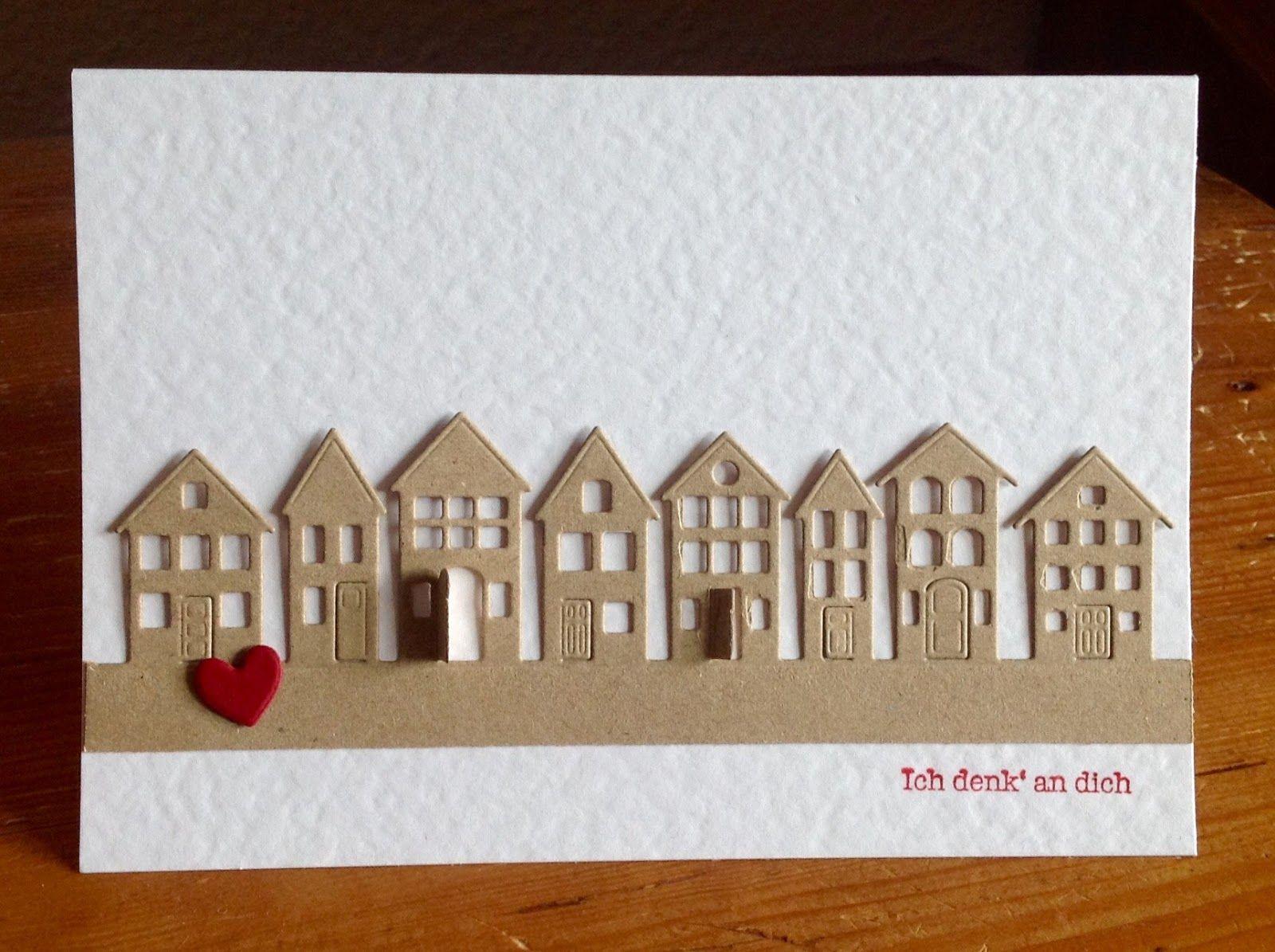 stanze brevilla houses von poppystamps karten pinterest einzug umzug und zum einzug. Black Bedroom Furniture Sets. Home Design Ideas