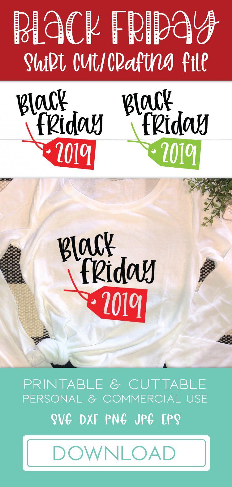 Black Friday 2019 SVG Cut File