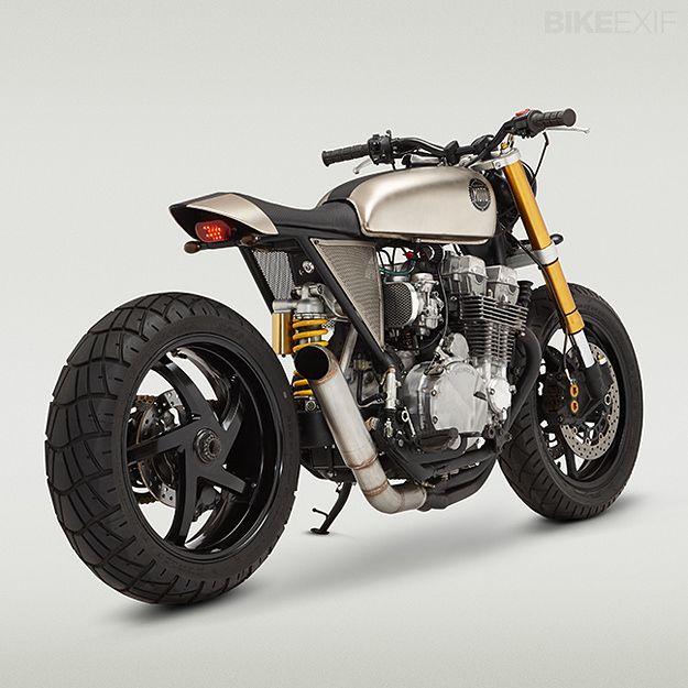 Honda Nighthawk By Classified Moto Yamaha Cafe Racer Honda