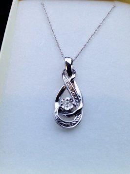 f3820a9a3 Sterling Silver Diamond Necklace | Jewelry | Jewelry, Kay jewelers ...