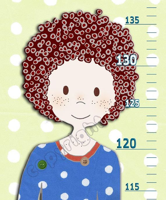 Kids Gift - A Growth Chart for a Little Boy in Canvas or Vinyl - boys growth chart