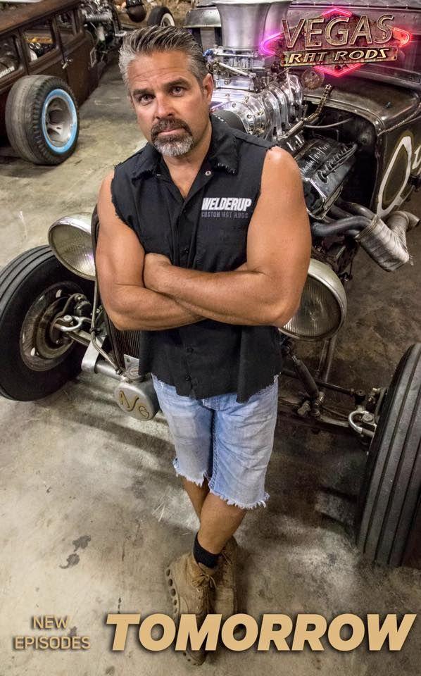 Steve Darnell  WelderUp  Cool Dudes  Hot guys Rats Custom cars