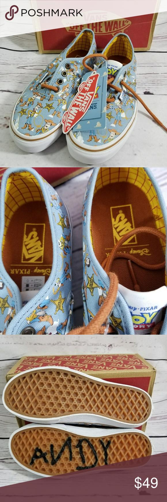 Vans Toy Story Woody azul