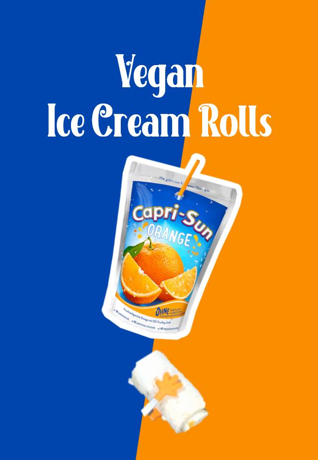 Capri Sun Is Vegan Orange Ice Cream Vegan Ice Cream Capri Sun