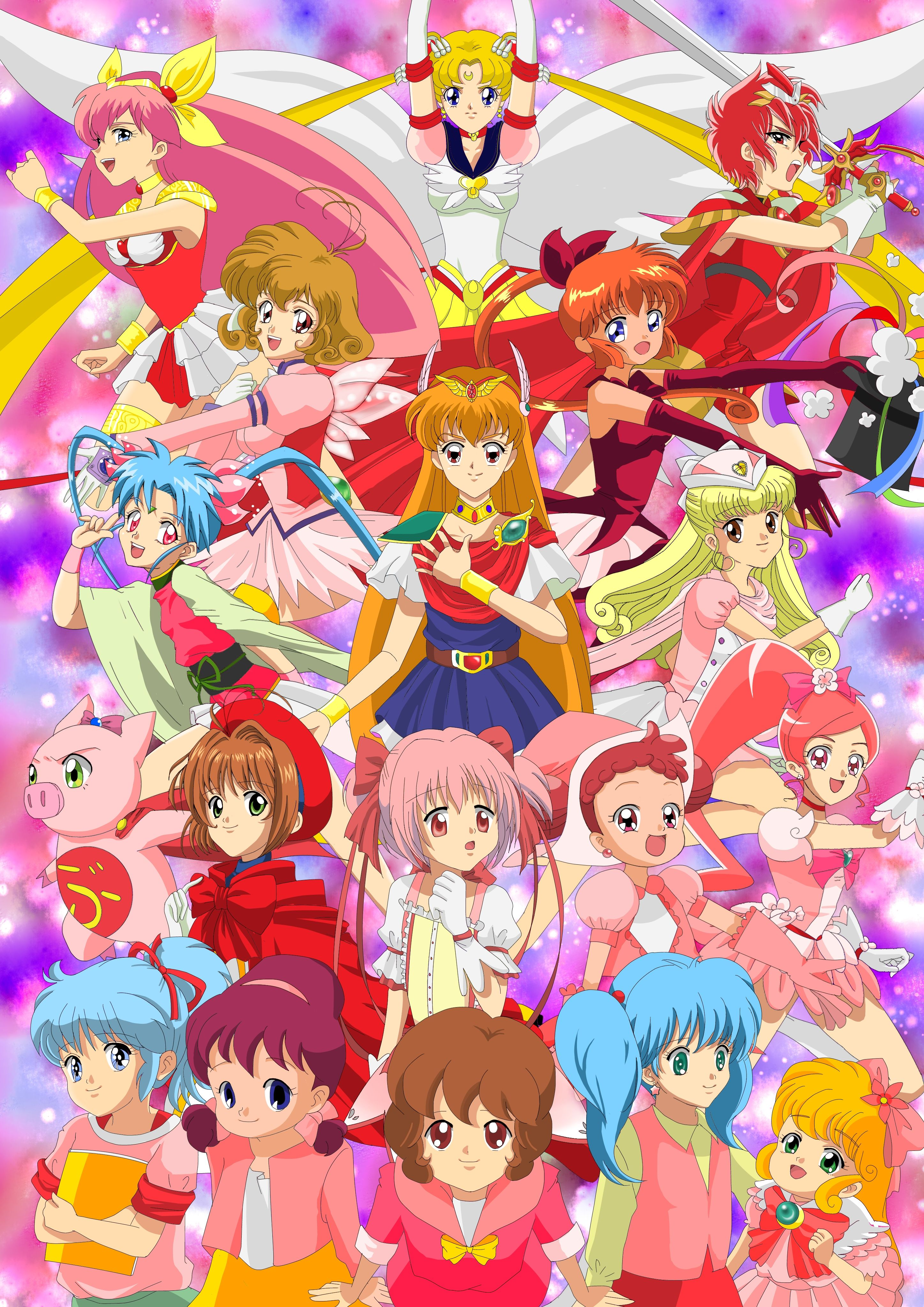 Mahou Shoujo  Magical girl anime, Anime, Magical girl