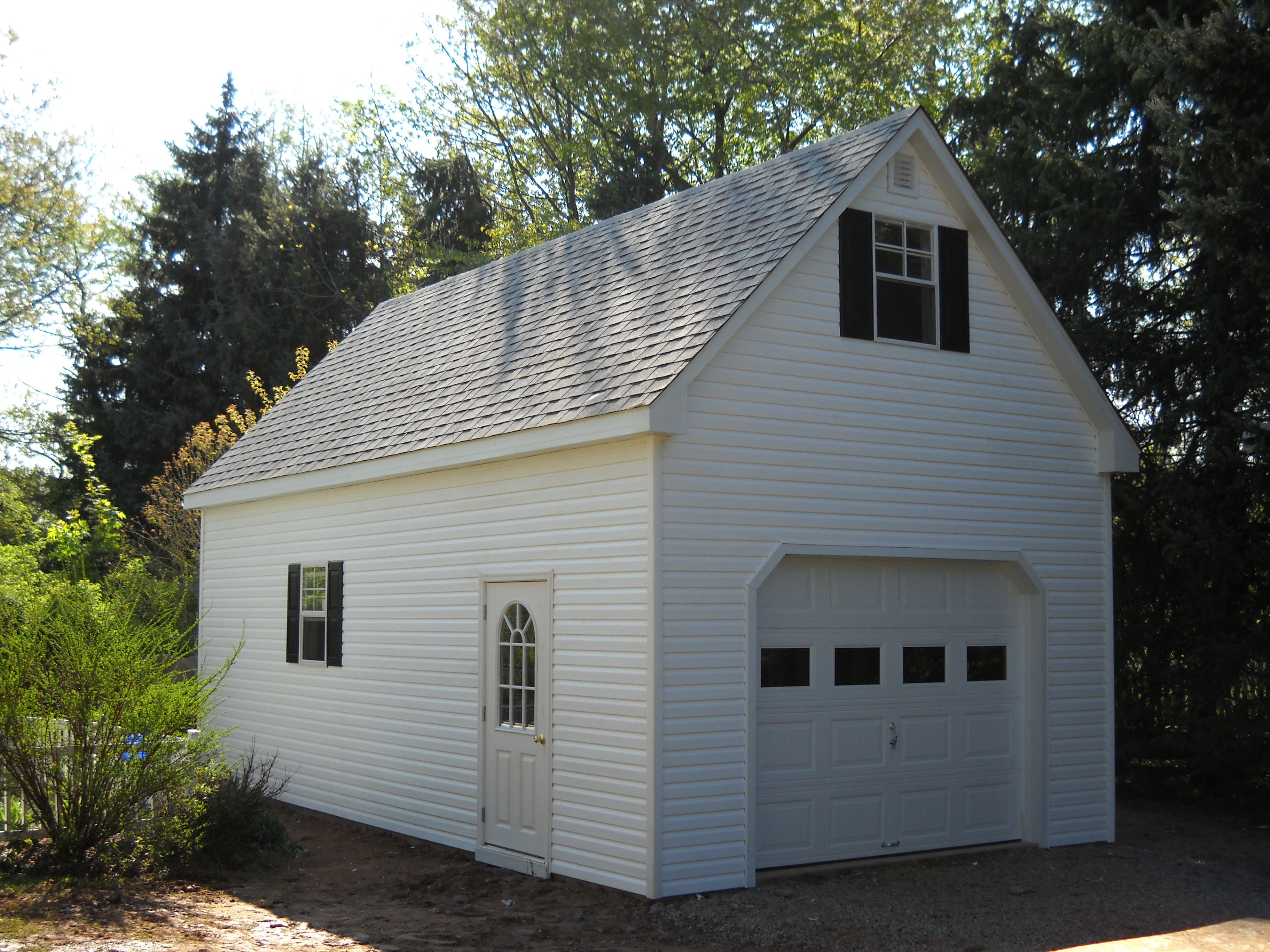 Do you like this Two-Story A-Frame Single Car Garage ? | Garage/Work ...