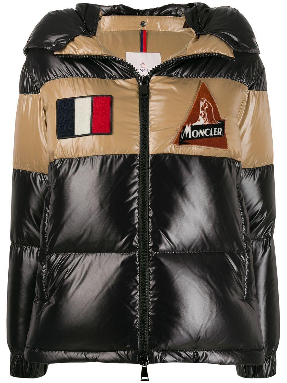 Moncler Patch Details Puffer Jacket Farfetch Moncler Puffer Jackets Jackets [ 1334 x 1000 Pixel ]